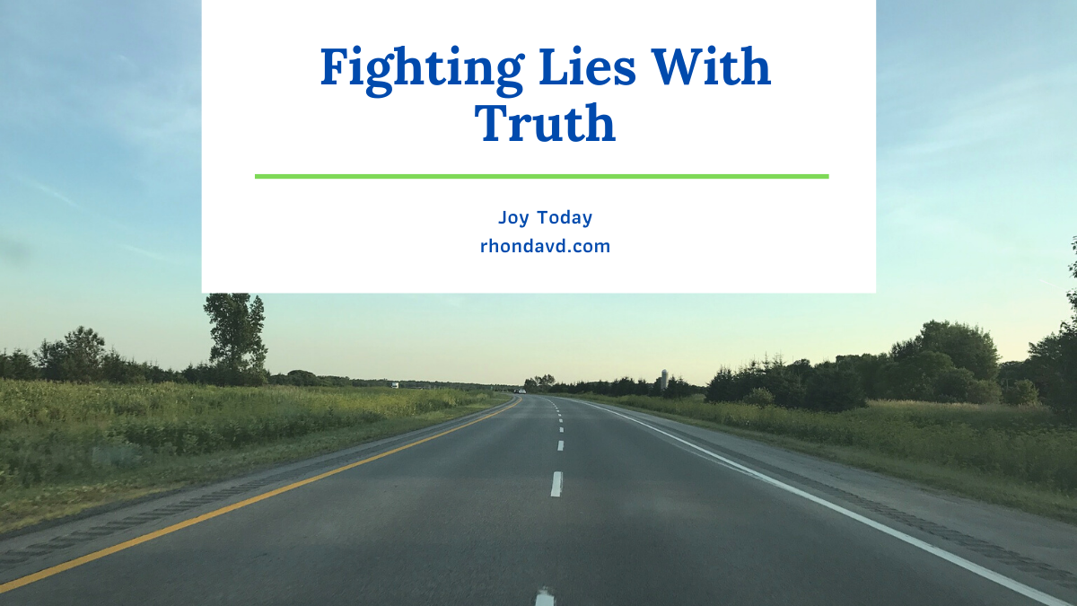 Fighting Lies with Truth
